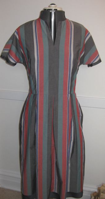 stripe dress