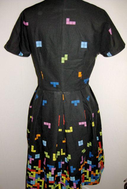tetris kleid