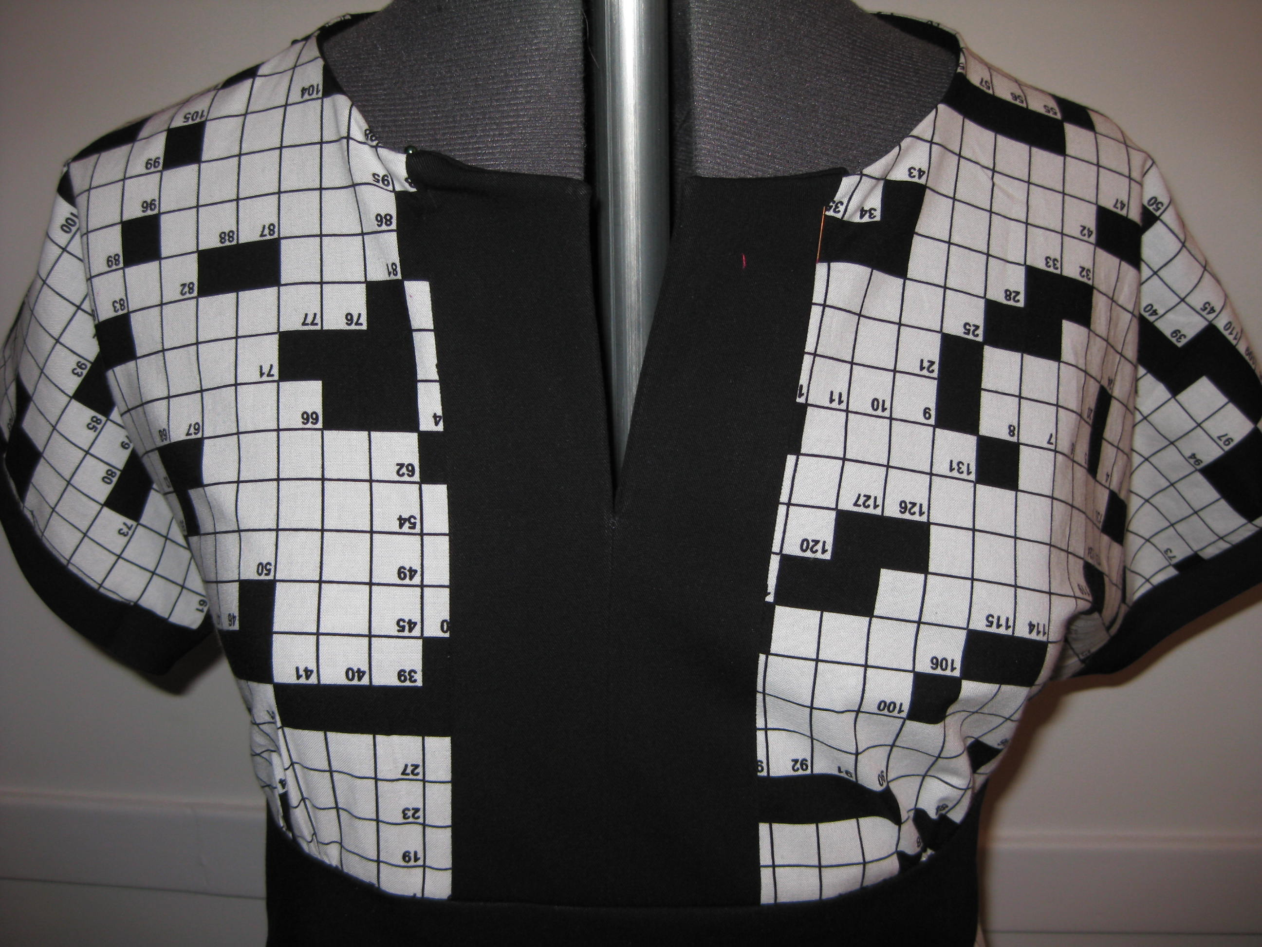 2009 crossword dress