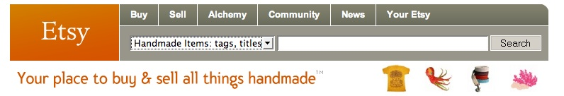 etsy search bar
