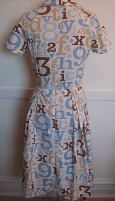 DwellBaby Target fabric dress