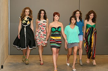 Butterick 6015 on the runway