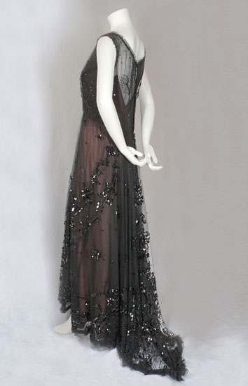 Edwardian evening dress