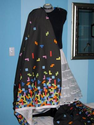 Tetris fabric