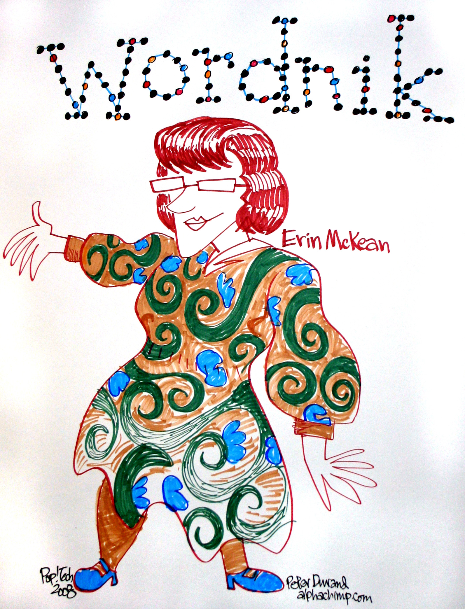 wordnik dress